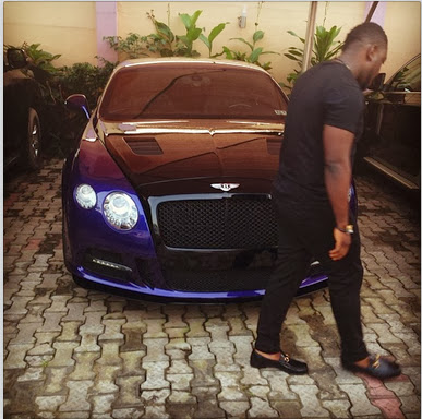Picture | Timaya Shows Off His New Ride.