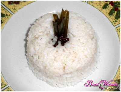 Resepi Cara Masak Nasi Lemak Tanpa Santan