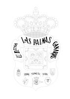 LAS PALMAS PARA COLOREAR