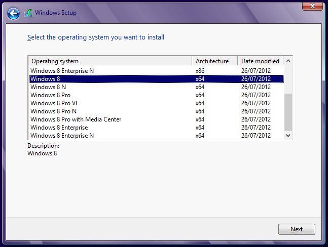 windows 8 rtm msdn