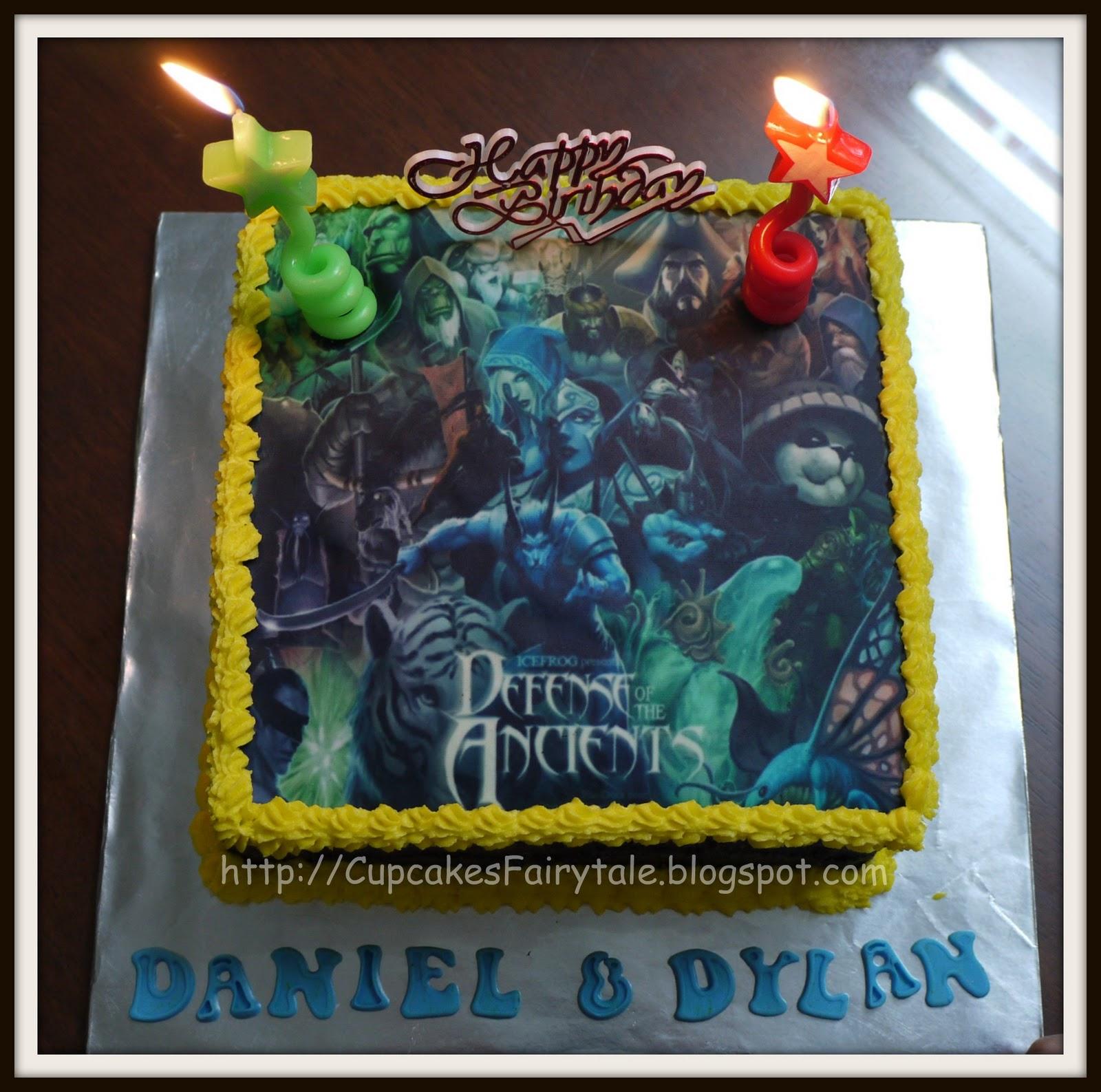 Cupcakes Fairytale My Twins 11th Birthday Cake Dota
