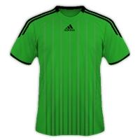 Desain Jersey Gratis Sepakbola dan futsal hijau hitam