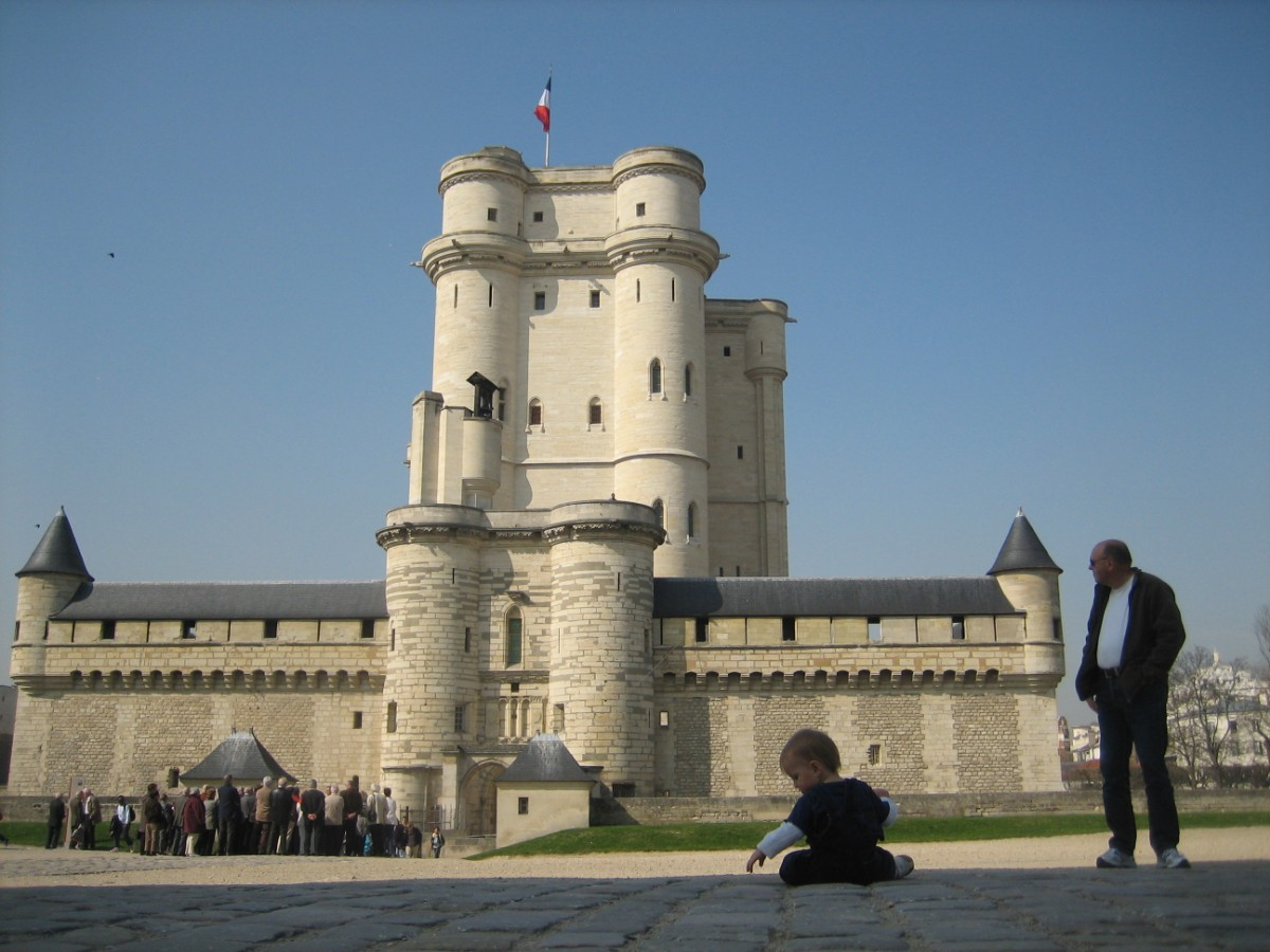 a castle in Paris!