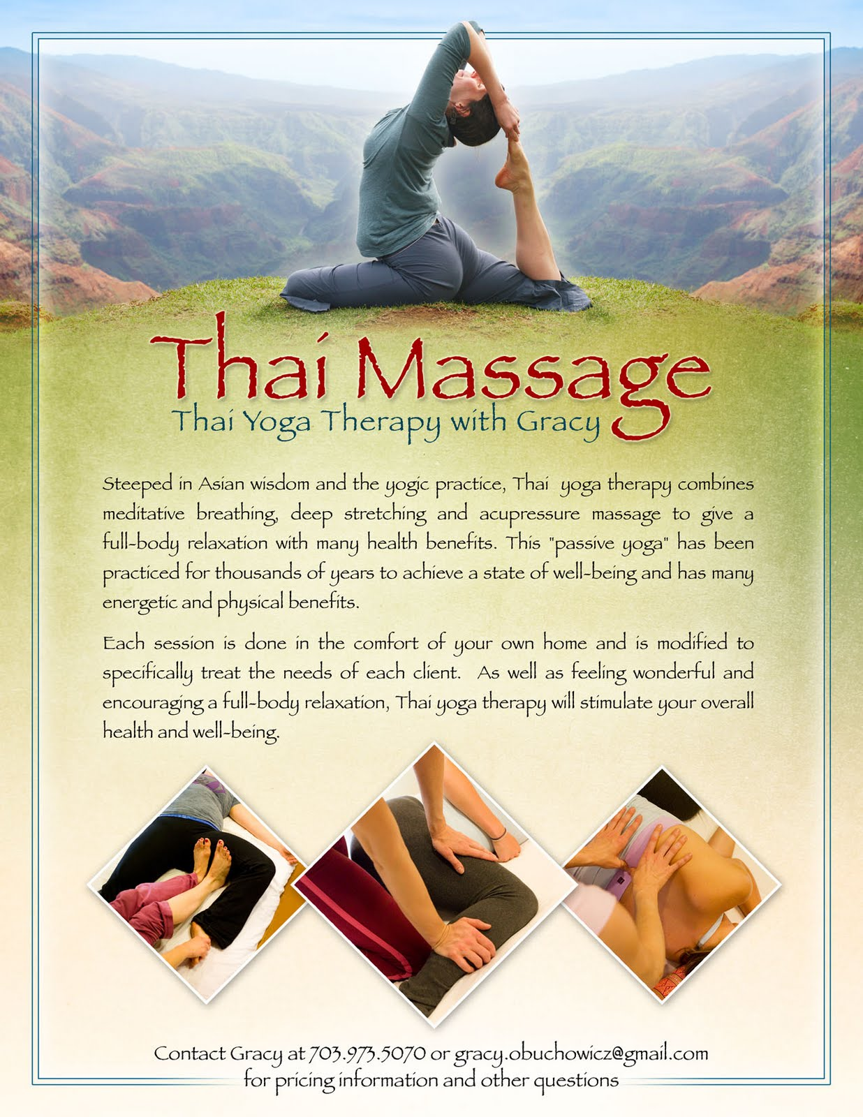 massage anu sunshine thai massage