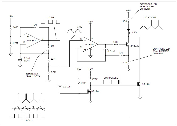 lighthouse led flasher diy electronics projects circuits diagrams rh diyelectronicsprojects blogspot com Cutawat Lighthouse Lighthouse Interior