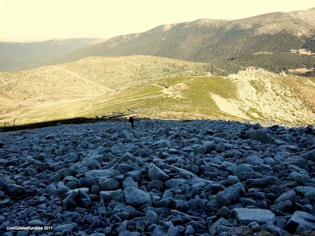 Cara Norte del Alto de Valdemartin