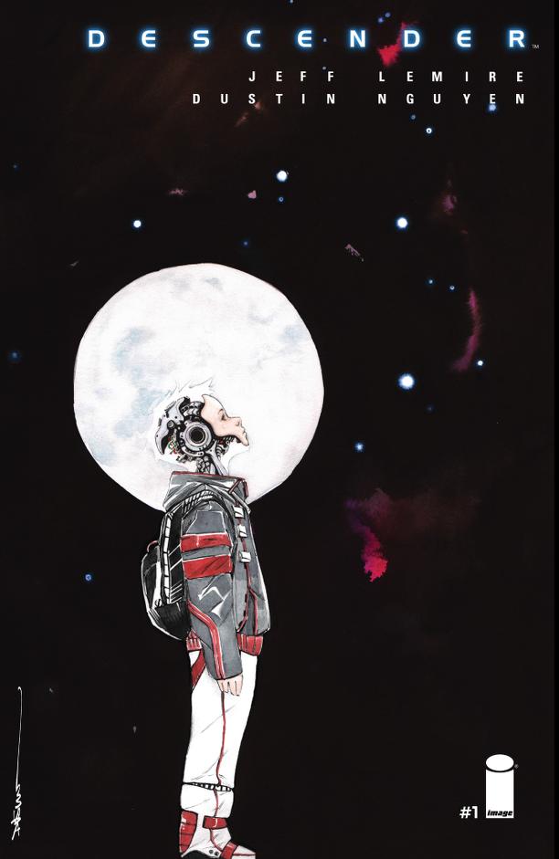 Descender, fumetto, Jeff Lemire, fantascienza, robot