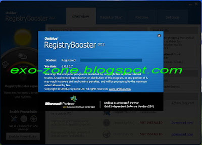 Uniblue Registry Booster 2012 6.0.10.7 Full Verison