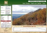 RUTA ACEBO-PUERTO CASTILLA-GATA