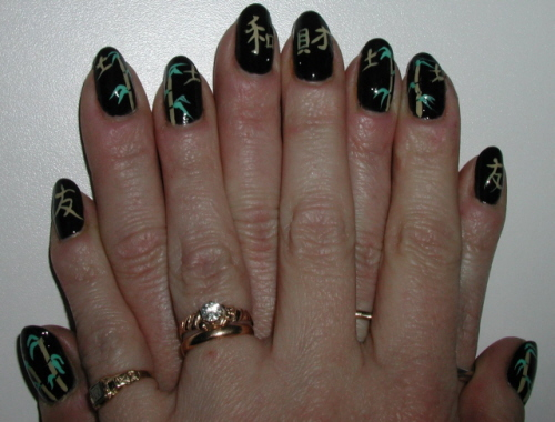 Bamboo Nails5