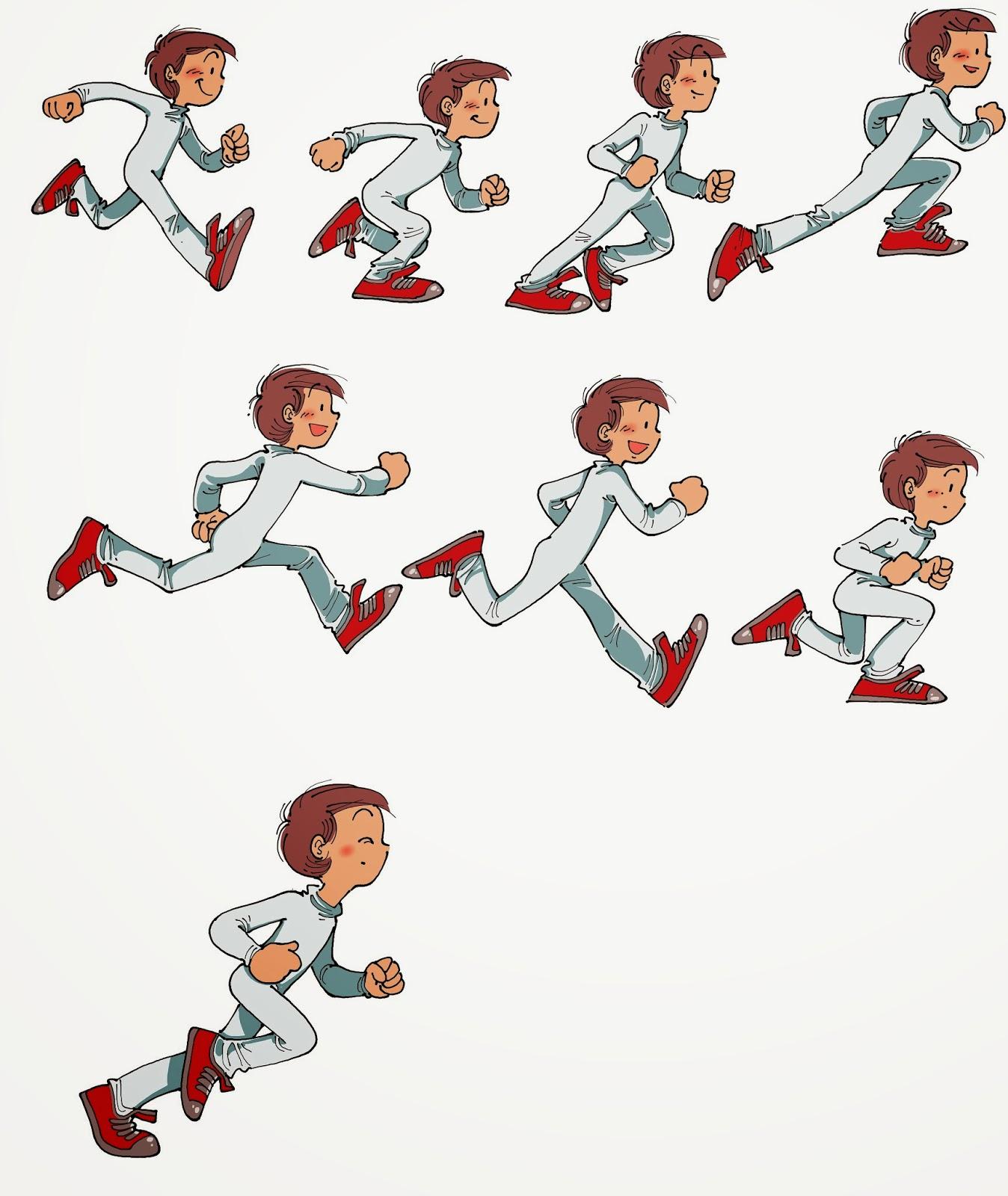 Imagenes de correr caricatura imagui for Imagenes de animacion