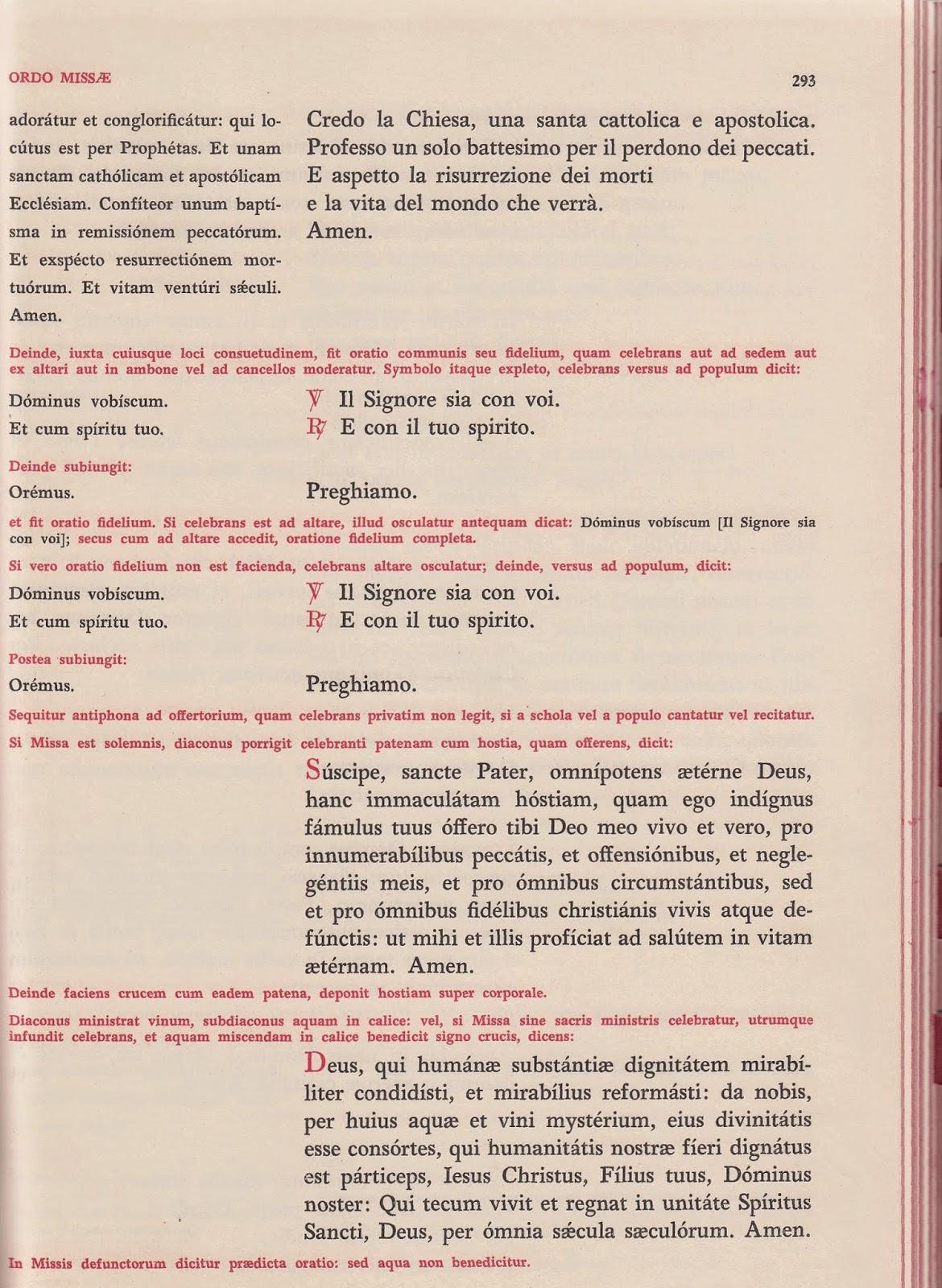 Matrimonio Romano Versione Latino : Acta apostaticae sedis come cambiando un po qua e