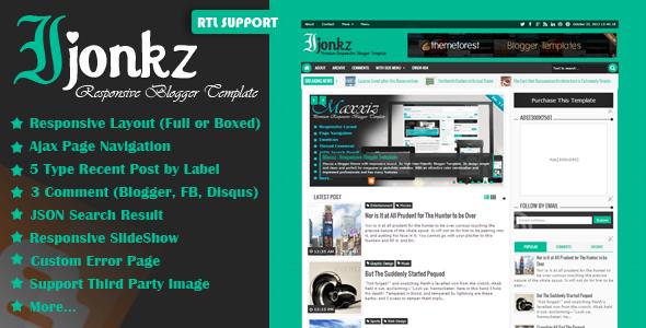 01Ijonkz previewfile Apriezt   Responsive Magazine/News Blogger Theme (Blogger)