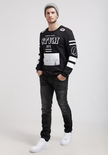 Model sweater cowok keren dan sporty terbaru masa kini
