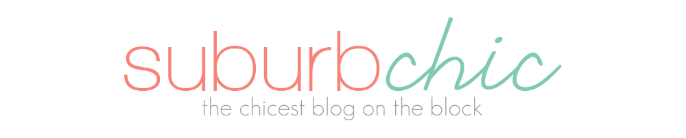 Suburb Chic Blog