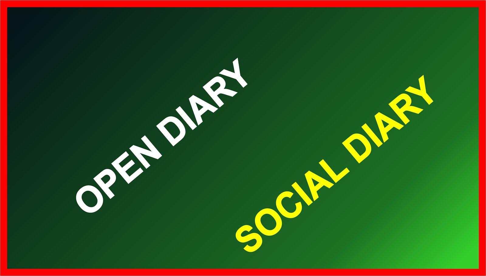 Open Diary Social Diary