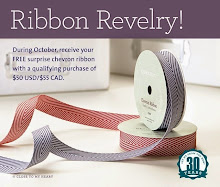 "It's October and that means it's time for some ""Ribbon Revelry"" from Close To My Heart"