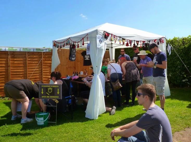 N'Ukfest Raffle Stall