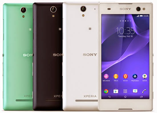 Harga Sony Xperia C3 Dual D2502