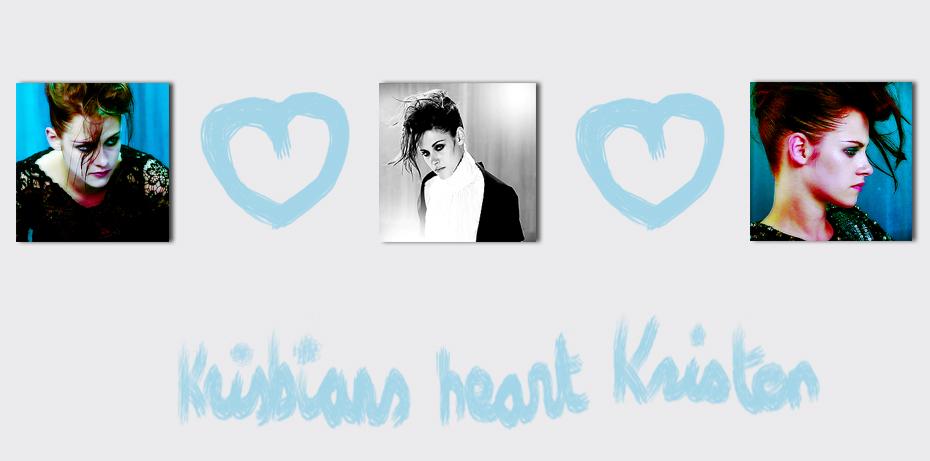 Krisbians heart Kristen