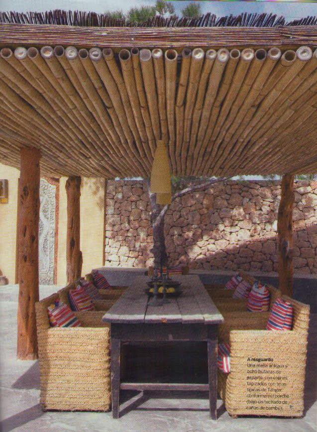 Neo arquitecturaymas decorar con bamb - Canas de bambu decoracion exterior ...