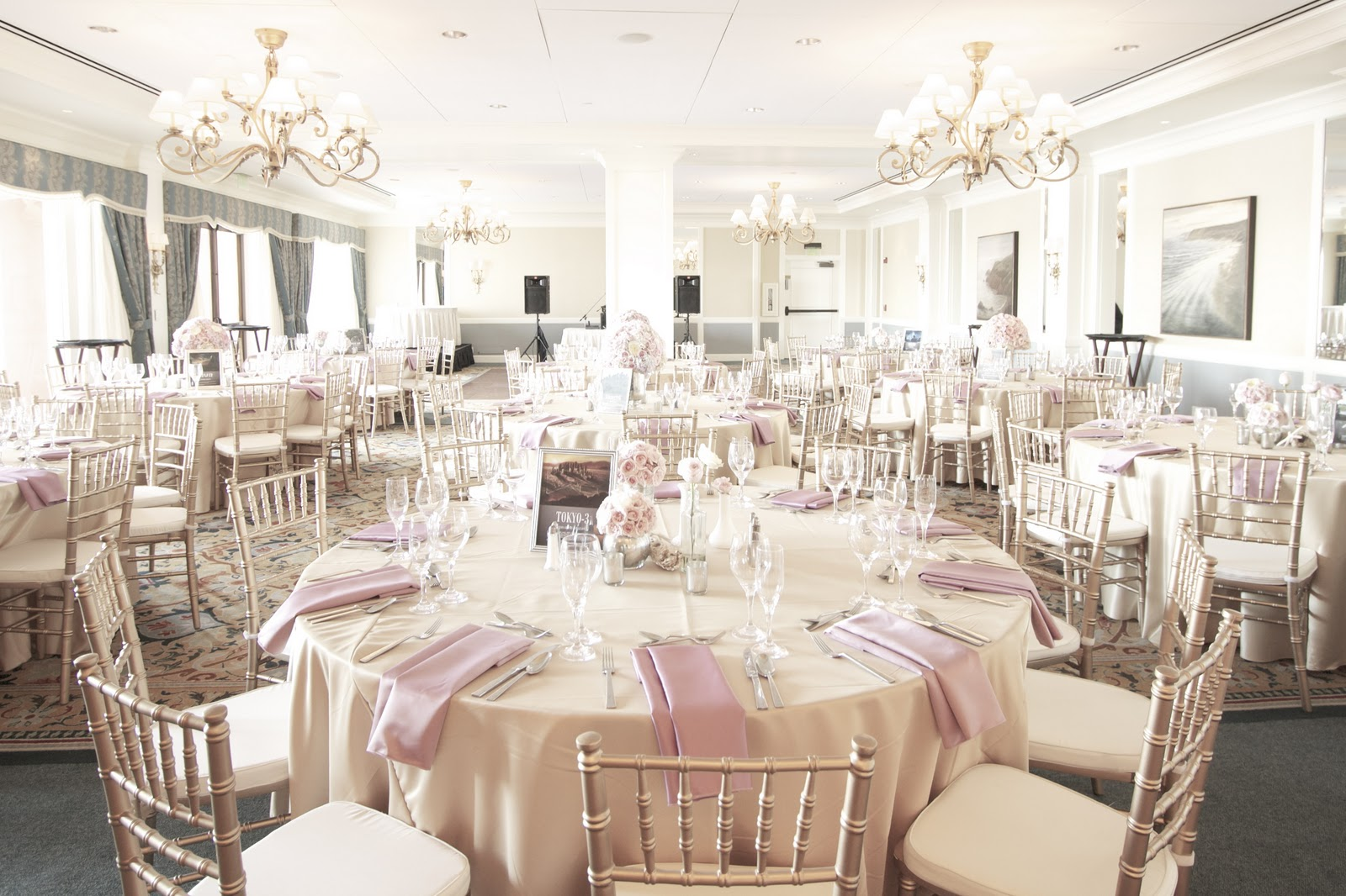 Weddings A Blush Oceanside Affair Craft And Couture
