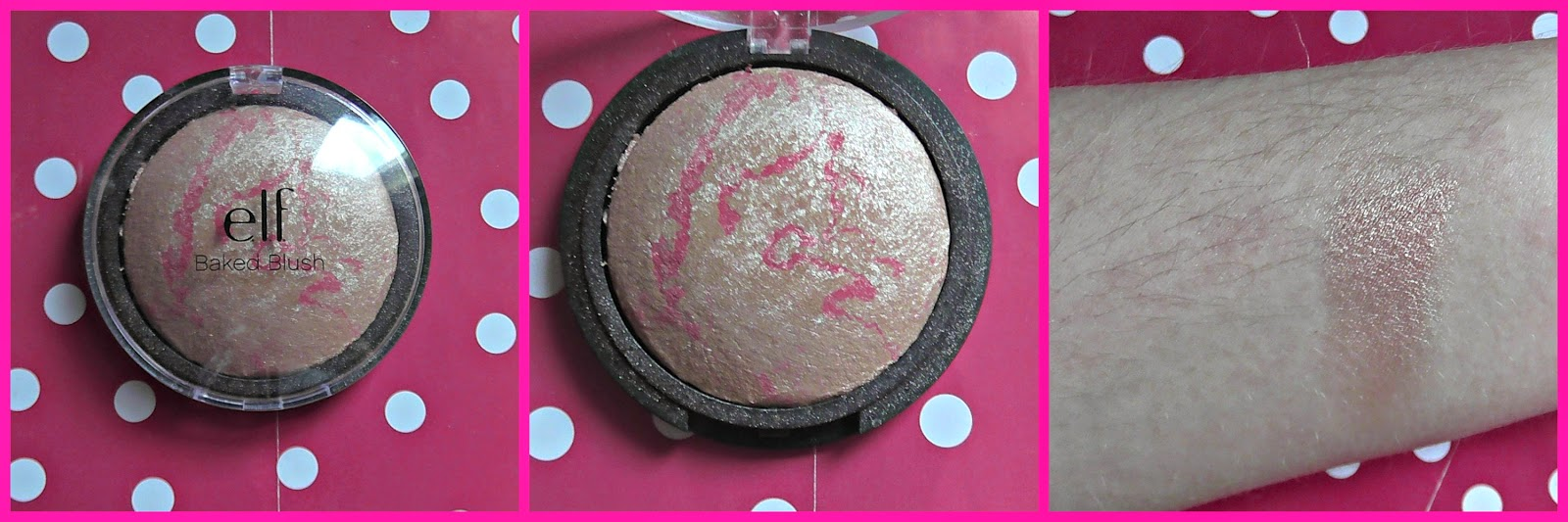 ELF Baked Blush in Pinktastic