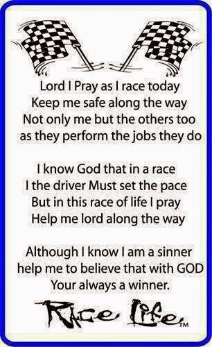 Racer's Prayer