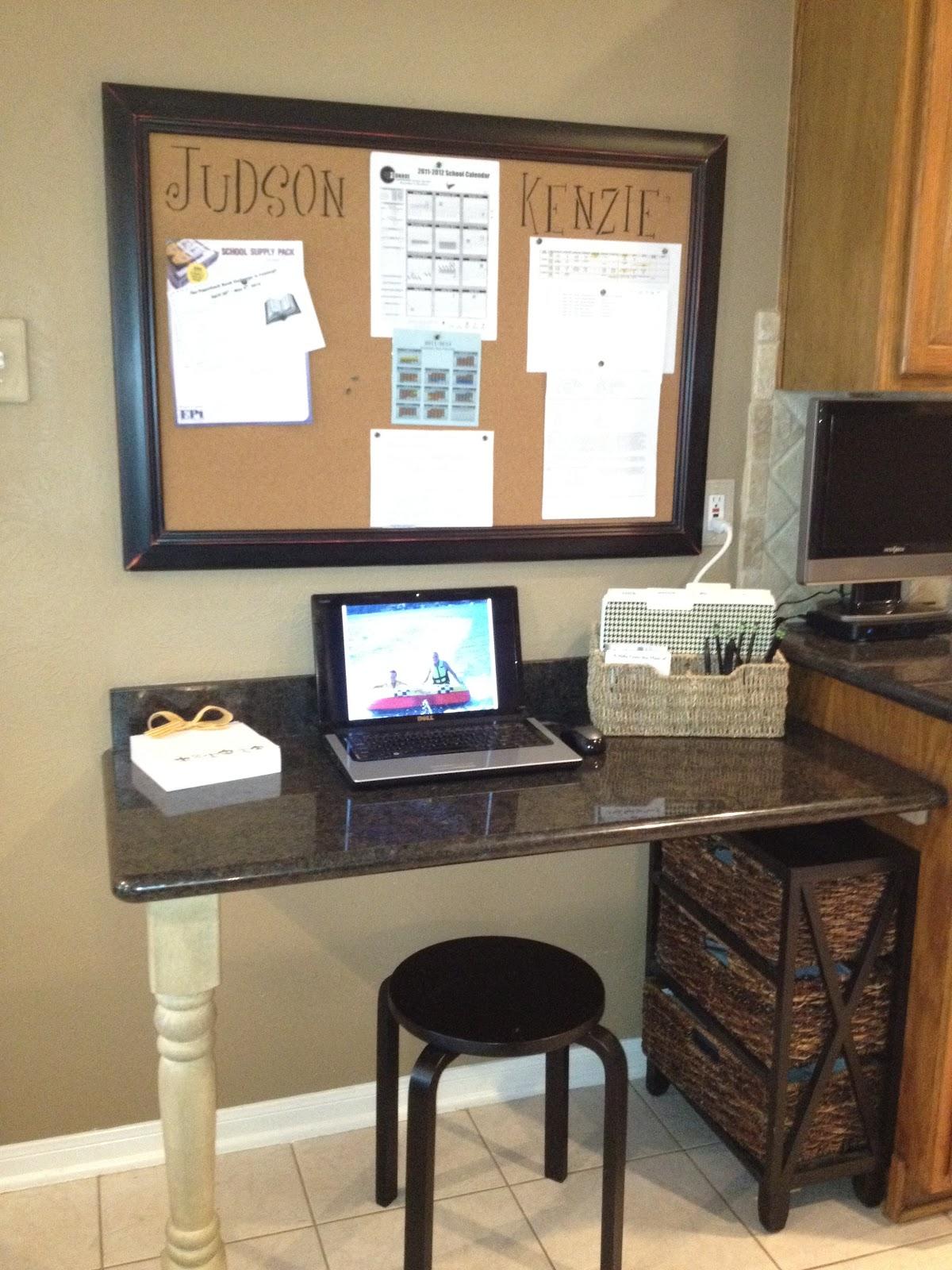 Kitchen Office Organization House To Home Photos Home Organization