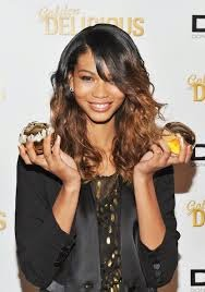 Chanel Iman African American Sleek And Side Braided Haircut, Hairstyle Images