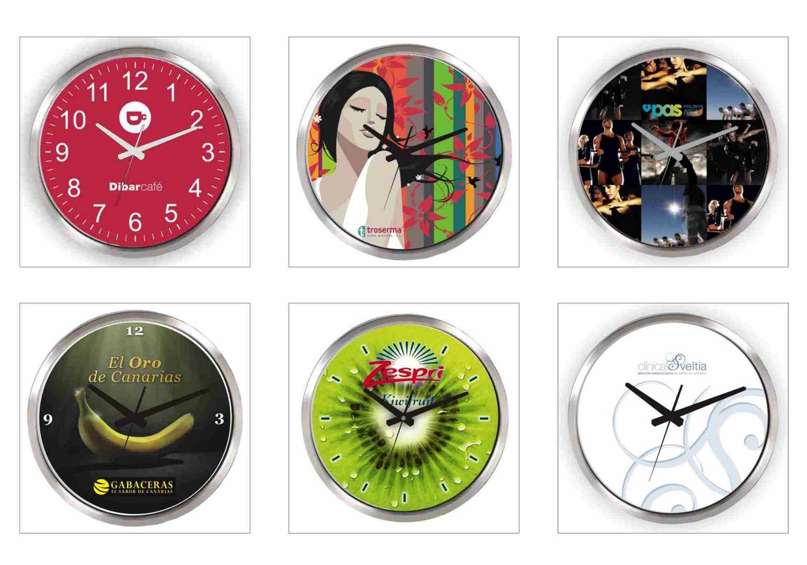 Ad watch relojes personalizados relojes de pared para - Relojes para decorar paredes ...