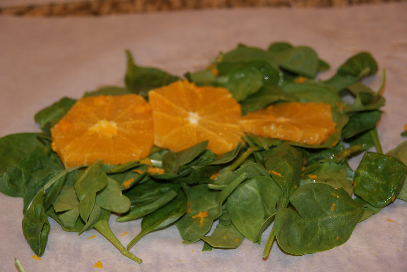 In the Kitchen with Karin: Salmon & Spinach Parchment Packets