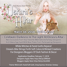 Ostara's Altar Returns from Dark Passions Events 13th October to 3rd November 2017
