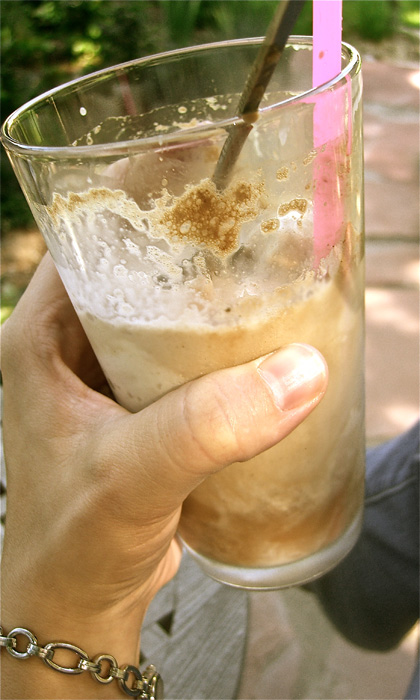 Homemade, Root beer, Float