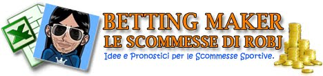 Betting Maker, le scommesse di Robj.