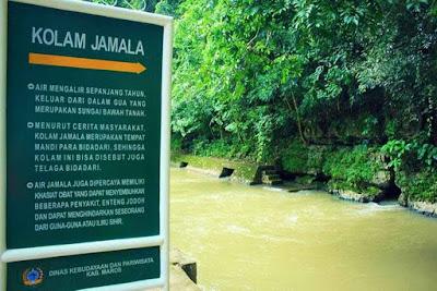 Kolam Jamala Sulawesi Selatan