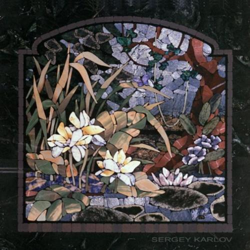 Sergey Karlov stone mosaic art