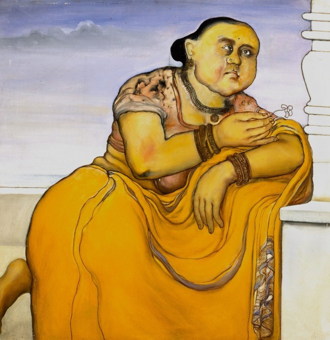 Waiting for her Lover - Jogen Chowdhury, 1974