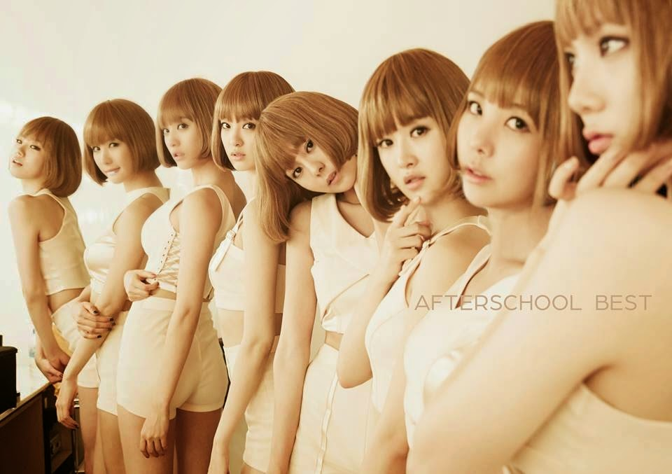 More info on 'After School Best Album' Japan release