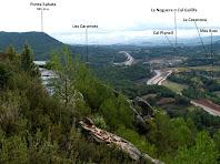 Panoràmica des de la Solella del Puig