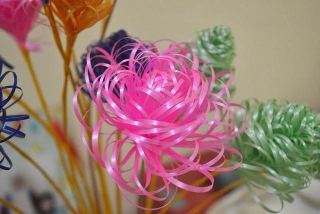 Kreasi Bunga Pita Jepang