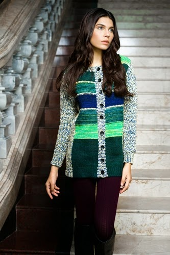 Bonanza Winter Sweaters Collection 2014-15 for Girls