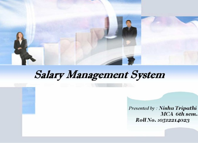 Salary Management System Computer Project Abstract