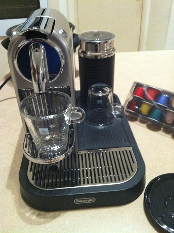 nespresso machine not enough