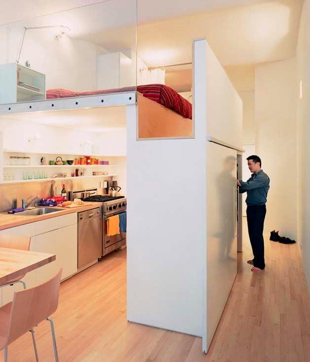 Decoración para aprovechar espacios en pequeños ambientes