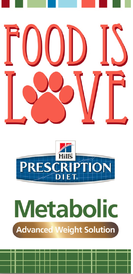 Food is Love with Hill's Prescription Diet Metabolic Advanced Weight Solution Food