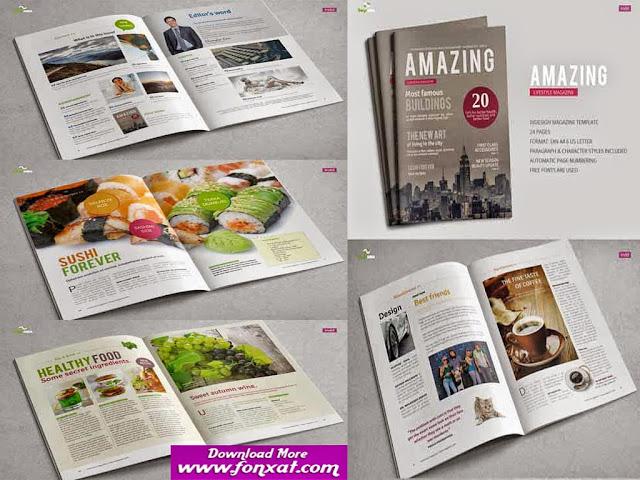 تصميمات مجلات التصميم رقم ( 34 ) magazine design