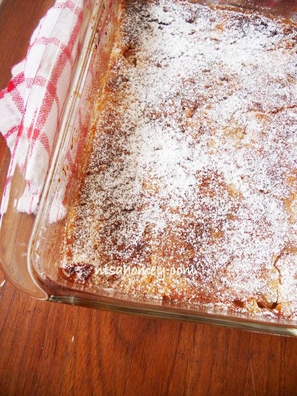 Fresh apple dump cake recipe