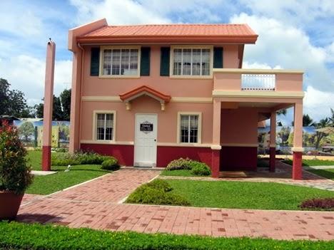 Camella homes bacolod carmela model house