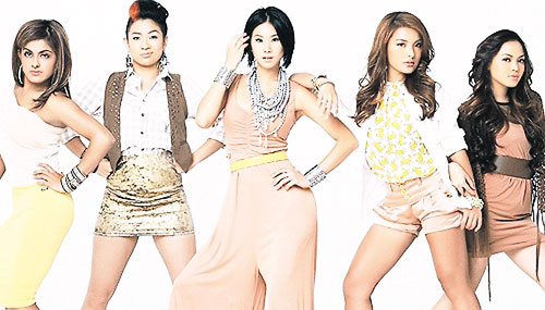 Kumpulan Blush Gabungan Gadis Jelita Pan Asia